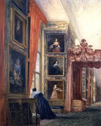 David Cox by The Long Gallery Hardwick Hall Derbyshire 1811 David Cox