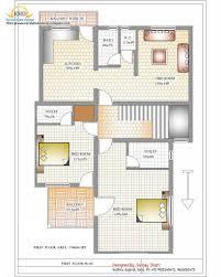 luxury indian home design with house plan sqft kerala 2 floor