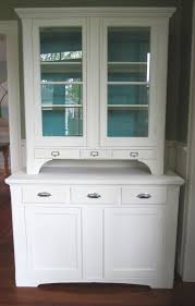 Kitchen Cabinet With Hutch This Built In Hutch With Traditional Gallery Also White Kitchen