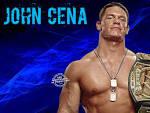 Wallpapers Backgrounds - Elated John Cena pose Championship belt