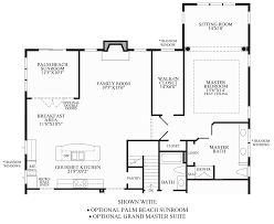 Sunroom Floor Plans by Regency At Emerald Pines The Lehigh Home Design