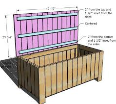 Plans To Build A Storage Bench by Best 25 Garden Storage Bench Ideas On Pinterest Garden Seating