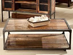 Rustic Wood Living Room Furniture Coffee Table Simple Metal And Wood Coffee Table Design Ideas