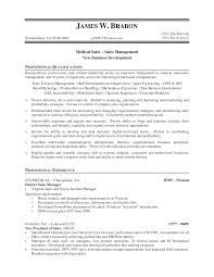 Resume Examples Free Medical Sales Job Resumes SinglePageResume com Medical Device Sales Resume Samples