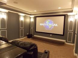 Home Movie Theater Wall Decor Sweet Home Movie Theater Rooms With Urban Stylish Decor And Dark