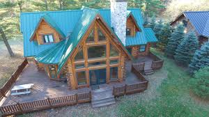 Log Home For Sale Lakefront Log Home For Sale Waupaca Wi Chain O Lakes Log Homes