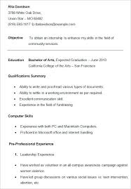 Best Resume Format For College Students by Download College Student Resume Sample Haadyaooverbayresort Com