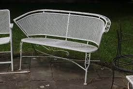 collection wrought iron garden furniture antique pictures