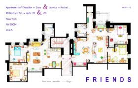 Floor Planners by Artist Draws Beautiful Floor Plans Of Famous Tv Show Homes Today Com