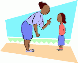 image of a parent scolding a child, borrowed from scribblings-reflections.blogspot.com