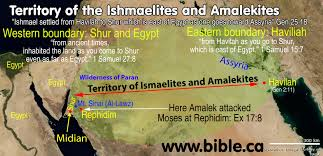 Show Me A Map Of The Middle East by The Exodus Route A Scriptural Proof With The Witness Of History