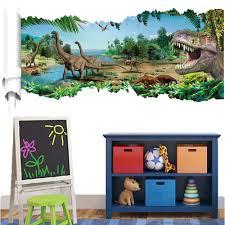jurassic world dinosaur wall sticker art vinyl decals kids room