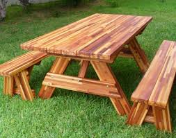 Building Plans For Picnic Table Bench by Table Exceptional Large Picnic Table Plans Free Attractive Build
