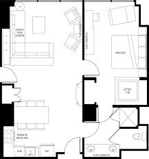 2 bedroom suites las vegas mgm las vegas 2 bedroom suites vdara elara one bedroom suite mgm floor plan mgm condos las vegas