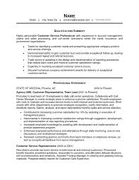 Customer Services Resume Sample by Example Of Resume For Job