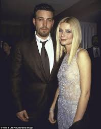 Gwyneth Paltrow     s love life through the years  from Brad Pitt to     Daily Mail Rebound  Gwyenth dated Ben Affleck following her devastating split from Brad Pitt but has admitted