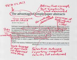 how to write a science lab report abstract