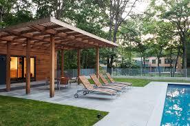 Deck Pergola Ideas by Pergola Roof Ideas Patio Modern With Awning Cedar Concrete Deck