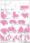 origami Rabbit Cube2 en.origami-club.com