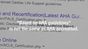 don u0027t be fooled by non aha imitations cpr bls acls pals youtube