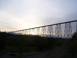 Longest  highest  trestle bridge in the world  Lethbridge  Alberta  Canada Pinterest
