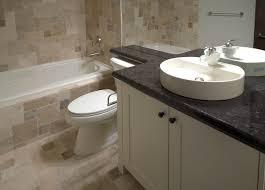 Bathroom Ideas Bathroom Countertops With Black Marble Ideas And - Black bathroom vanity with vessel sink