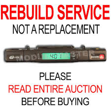 95 96 97 jag jaguar xj6 xjr xj12 x300 lcd clock rebuild repair ebay