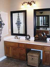 small bathroom mirrors frame doherty house chic small bathroom