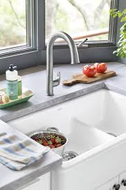 How To Open Kitchen Faucet by Gulf Coast Beach House Kohler