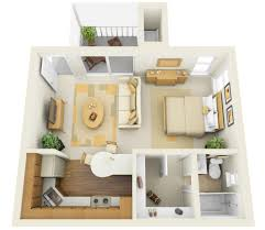 remodelling your home design studio with nice cool one bedroom