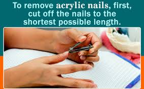you can take off acrylic nails at home here u0027s how to do it right