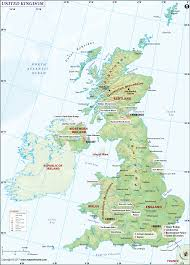 Usa States And Capitals Map by Uk Map Map Of Uk United Kingdom Map