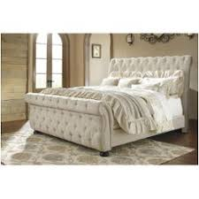 Ashley Furniture Bedroom by B643 78 Ck Ashley Furniture California King Upholstered Bed