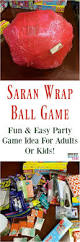 halloween work party games saran wrap ball game fun party game idea for kids or adults fun