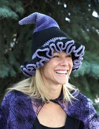 pattern witch costume lily witch or wizard hats crochet pattern yarnspirations