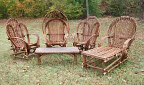 Wood Patio Furniture Sets - lewis drake and associates willow tree branch patio furniture