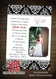 km print custom invitations san antonio custom quinceanera