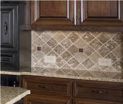 Kitchen Tile Backsplash Design Ideas Kitchen Luxury Backsplash Ideas For Dark Cabinets With Grey