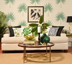 Art On Walls Home Decorating by Trend Spotting Tropical Decorating Stencil Stories