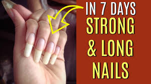 how to grow long nails in 7 days superprincessjo youtube