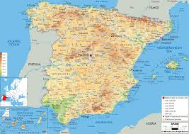 Google Maps Greece by Google Map Of Spain Vacations Travel Map Holiday