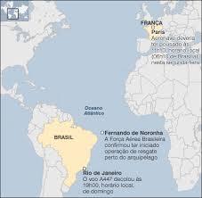 Brasil envia aviões e navios para ajudar nas buscas