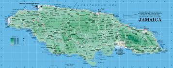 Map Of Western Caribbean jamaica map map of jamaica from caribbean on line
