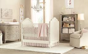 Vintage White Baby Crib by Furniture Vintage Style Chic Baby Decorations Room Come With