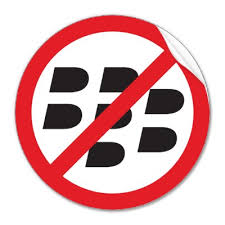 NO BLACKBERRYS