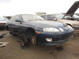 lexus twin turbo accident junkyard find 1994 lexus sc400 the truth about cars