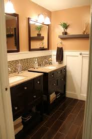 Backsplash Bathroom Ideas Colors Double Vanity Bathroom Like The Idea Of The Separate Sinks And The