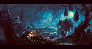 halloween background of wich i want to see more hq art u0027 features by julia riley on deviantart