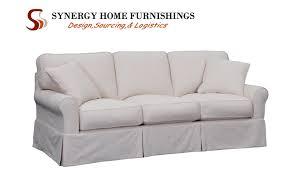 Carolina Leather Sofa by Synergy Home Furnishings Furniture Fair North Carolina