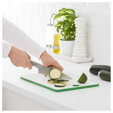 Ikea Kitchen Knives Matlust Chopping Board Green White 34x24 Cm Ikea